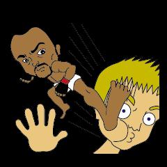 MMA stickers