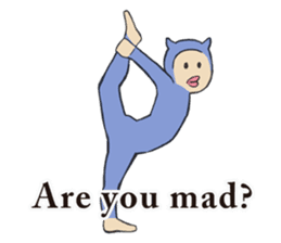 Little Devil Yoga sticker #5724547