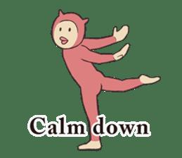Little Devil Yoga sticker #5724549