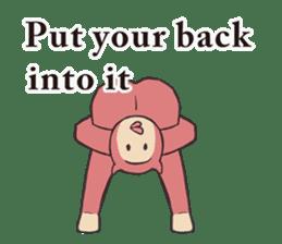 Little Devil Yoga sticker #5724554