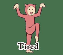 Little Devil Yoga sticker #5724563