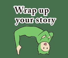 Little Devil Yoga sticker #5724564