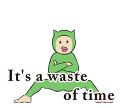 Little Devil Yoga sticker #5724565