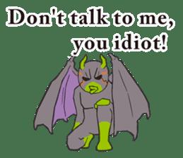 Little Devil Yoga sticker #5724569