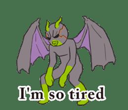 Little Devil Yoga sticker #5724570