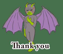 Little Devil Yoga sticker #5724571