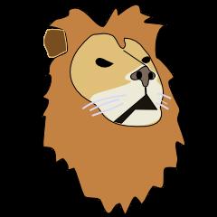 A cute lion.