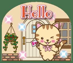 Mooran is cat English version sticker #5737566