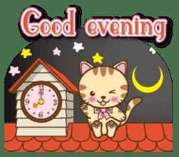 Mooran is cat English version sticker #5737567