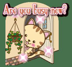 Mooran is cat English version sticker #5737568