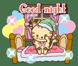Mooran is cat English version sticker #5737569