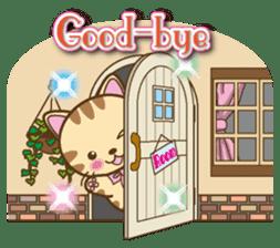 Mooran is cat English version sticker #5737570