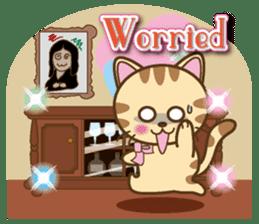 Mooran is cat English version sticker #5737576