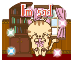 Mooran is cat English version sticker #5737580