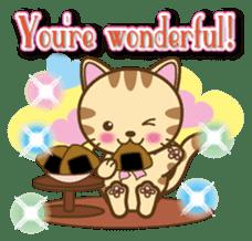 Mooran is cat English version sticker #5737581