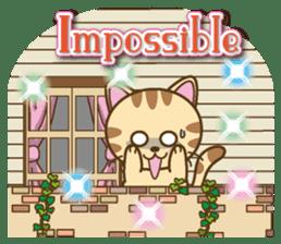 Mooran is cat English version sticker #5737582