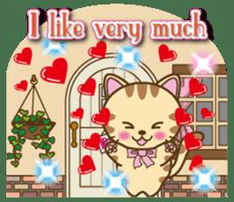 Mooran is cat English version sticker #5737584