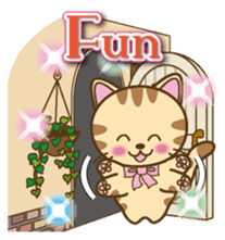 Mooran is cat English version sticker #5737588