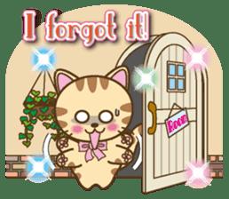 Mooran is cat English version sticker #5737590