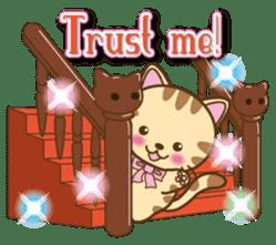 Mooran is cat English version sticker #5737593