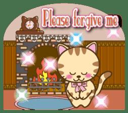 Mooran is cat English version sticker #5737594