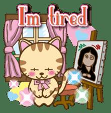 Mooran is cat English version sticker #5737597