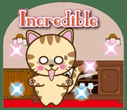 Mooran is cat English version sticker #5737598