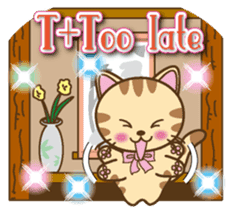 Mooran is cat English version sticker #5737599