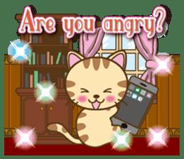 Mooran is cat English version sticker #5737602