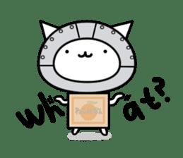 Cat type robot. Cat hand 3 sticker #5738364