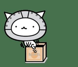 Cat type robot. Cat hand 3 sticker #5738368