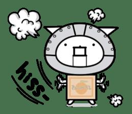 Cat type robot. Cat hand 3 sticker #5738369