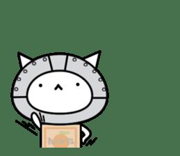 Cat type robot. Cat hand 3 sticker #5738371