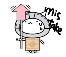 Cat type robot. Cat hand 3 sticker #5738372