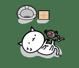 Cat type robot. Cat hand 3 sticker #5738379