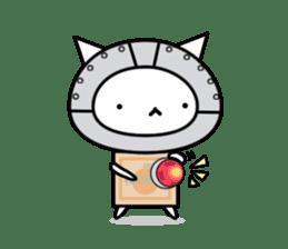 Cat type robot. Cat hand 3 sticker #5738384