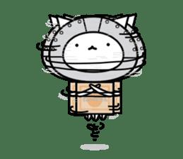 Cat type robot. Cat hand 3 sticker #5738396