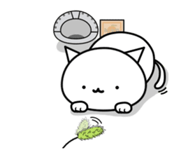 Cat type robot. Cat hand 3 sticker #5738397