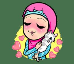 Hijab Pop sticker #5739390