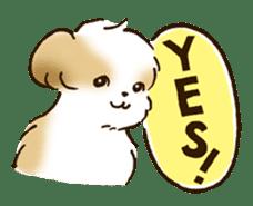 I Love Shih Tzu sticker #5740212