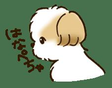 I Love Shih Tzu sticker #5740214