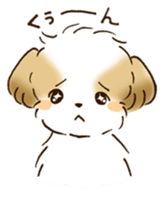 I Love Shih Tzu sticker #5740220