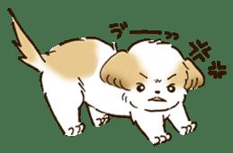 I Love Shih Tzu sticker #5740227