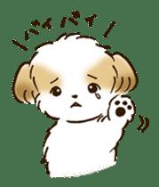 I Love Shih Tzu sticker #5740232