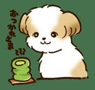 I Love Shih Tzu sticker #5740233