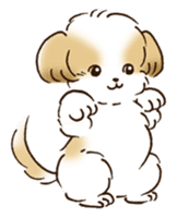 I Love Shih Tzu sticker #5740241