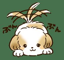 I Love Shih Tzu sticker #5740243