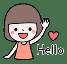 Honobono sticker #5744284