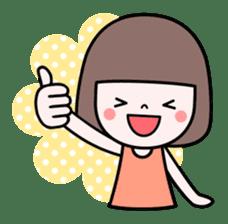 Honobono sticker #5744286