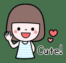 Honobono sticker #5744290